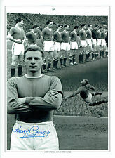 Harry GREGG Signed Autograph Manchester United 16x12 Montage Photo AFTAL COA