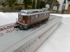 HobbyTrain 11441 BLS AE 4/4 Electric Locomotive, 2 Rail DC