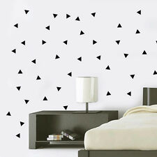 Cute Triangle Removable Wall Stickers Vinyl Decal Kids Art Mural Decor 150 pcs