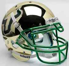 SOUTH FLORIDA BULLS Schutt AiR XP AUTHENTIC Football Helmet (GOLD CHROME)