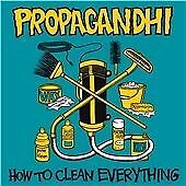 Propagandhi - How to Clean Everything (2013) CD 20th Anniversary NEW  SPEEDYPOST