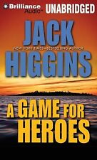 A Game for Heroes by Jack Higgins and Michael Page Unabridged MP3 Audio Book