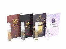 Amouage Lyric Epic Jubilation Reflection Man - 4 x 2ml EDP Vial Spray With Cards