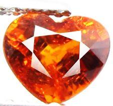 1.14 ct Natural Heart-cut AAA Mandarin Orange VS Spessartite Garnet (Namibia)