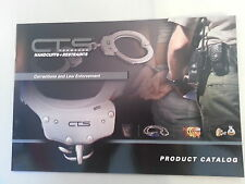 CTS Thompson Handcuffs & Restraints Product Catalog / Law Enforcement NEW