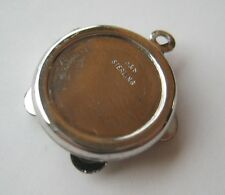 VINTAGE Sterling Silver TAMBOURINE Bracelet Charm Movable Cymbals