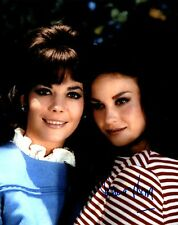 LANA WOOD AUTOGRAPHED 8X10 PHOTO WITH SISTER NATALIE WOOD