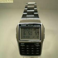 OROLOGIO CASIO COLLECTION DBC-32D-1AES DATA BANK RESINA CINT ACCIAIO 50325