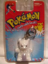 Pokemon Mewtwo Figure Light Up Keychain / Backpack Clip 1999 Tiger Unopened MOC