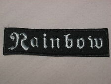 RAINBOW - RARE PATCH !!!! LP CD - DIO, BLACK SABBATH, DEEP PURPLE, URIAH HEEP !!
