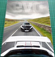Evo Magazine 160 - Porsche 997 911 GT3 RS 4.0 vs Maserati MC Stradale
