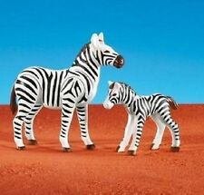 Playmobil Safari Zoo Circus 7898 Add-On Zebra & Baby Foal Animals New