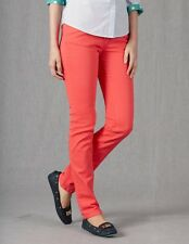 BRAND NEW ORG $78 BODEN WC114 WOMEN'S SKINNY JEANS IN CORAL PINK - SIZE US 4R