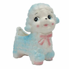 Rubens Originals Dog Lamb Planter Vintage Mid Century Anthropomorphic Baby 109