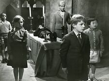 CHILDREN OF THE DAMNED 1963 BARBARA FERRIS VINTAGE PHOTO N°1    HORROR SCI-FI