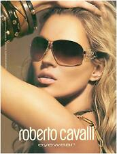 ▬► PUBLICITE ADVERTISING AD Eyewear Roberto Cavalli Lunettes Marcolin photo 2005