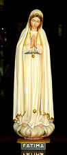 Fatima Madonna 45 cm, Mutter Gottes, St. Mary, Holz, wood, NEU