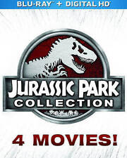 Jurassic Park Collection - All 4 Movies, Including Jurassic World (Blu-ray 3D +