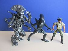 vintage ALIENS ACTION FIGURE queen warrior marine corp hicks KENNER 1992 lot c41