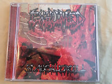 EXHUMED Slaughtercult CD Relapse Records CARCASS Repulsion DEATH Nasum DRI gore