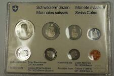1978 Switzerland Mint Set 8 Coins