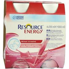 Resource Energy alla fragola/Lampone 4x200 ML