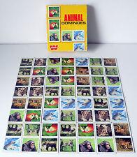 Vintage / Retro 1970's Animal Dominoes - Whitman