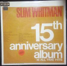 SLIM WHITMAN - 15TH ANNIVERSARY ALBUM VINYL LP AUSTRALIA