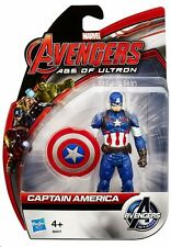"""CAPTAIN AMERICA ( 4"""" ) VHTF ( AVENGERS: AGE OF ULTRON ) ALL STAR ACTION FIGURE"""