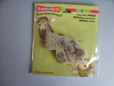 HOUSE MOUSE RUBBER STAMPS CLING MAKE A WISH STAMP