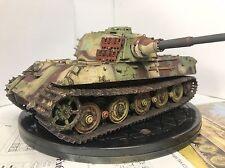 Tigre rey 1/35 Construido y pintado