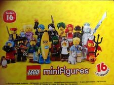 "LEGO 71013 MINI FIGURES SERIES 16 ""COMPLETE SET OF 16"" NEW RELEASE!!"