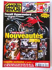 MOTO REVUE n°3688 du 11/2005; Salon de Milan/ Ducati Hypermotard/ Sx de Bercy