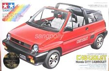 "Tamiya 1/24 Honda Sports Series Honda City ""Cabriolet"" Model Kit."
