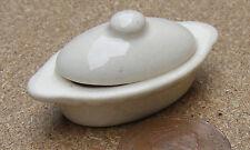 1:12 Crema Colore Pentola Casa Bambole Miniatura in CERAMICA ACCESSORIO C9