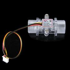 Transparent Water Hall Flow Sensor Flowmeter Water Control
