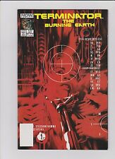 The Terminator:The Burning Earth #5 of 5 Alex Ross Now Comics VF Flat$3.99Ship