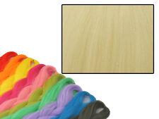 CYBERLOXSHOP PHANTASIA KANEKALON JUMBO BRAID RAW SAND BLONDE HAIR DREADS