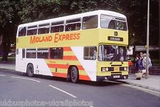 MIDLAND RED MERCIAN B911NBF 6x4 Bus Photo