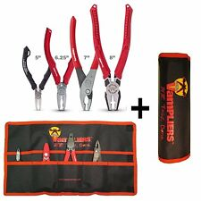 VamPLIERS 4-pc Set S4A Specialty Pliers Extract Stripped Stuck Screws