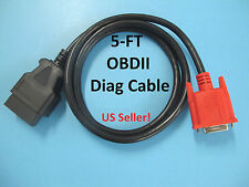 OBD2 OBDII ALL in One Main Cable for Launch GX3 Master Scanner Tool Code Reader