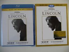 Lincoln (Blu-ray/DVD/Digital Copy, 2013, 4-Disc Set) w/slipcover (NEW/SEALED)