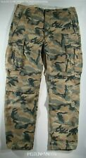 Levis Mens Green Brown Military Ace Camo Cargo Relaxed Pants 32x32 NWT