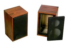 Pair Speaker Box For Rogers LS3 / 5A, Rogers LS 3 / 5A rosewood BBC spec