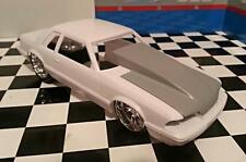 Resin Extended Outlaw Hood for '90 Mustang LX 5.0 Revell 1/25.
