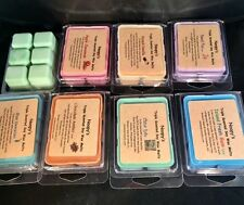 NOOPY'S (2) Clam Shells TRIPLE Scented Soy Wax Candle Melts/Tarts-U Pick Scents!