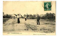 CPA 39 Jura Clairvaux animé