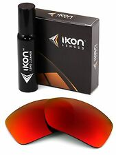 Polarized IKON Iridium Replacement Lenses For Oakley Big Taco - Positive Red