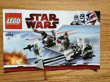 2017 Lego Instruction Manual: Star Wars Snowtrooper Battle Pack Set 8084