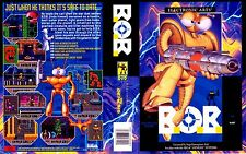 B.O.B BOB 2 Sega Genesis NTSC Replacement Box Art Case Insert Reproduction
